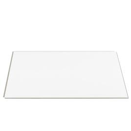 Dalle en PVC Blanc 65 x 37,5 cm 8 pièces DUMAWALL