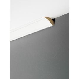 Moulure de plafond Crystal White 270 x 3,5 x 2,2 cm MAËSTRO
