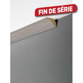 Moulure de plafond Grey Oak 270 x 3,5 x 2,2 cm MAËSTRO