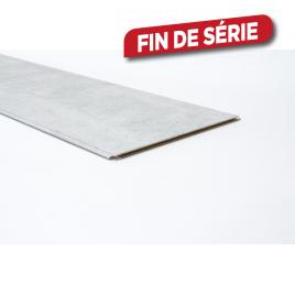 Lambris revêtu pour mur Raw Concrete 276,6 x 28,7 x 1 cm 4 pièces MAËSTRO