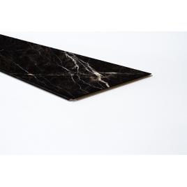 Lambris revêtu pour mur Black Marble 276,6 x 28,7 x 1 cm 4 pièces MAËSTRO