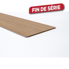 Lambris revêtu pour mur Natural Oak 276,6 x 28,7 x 1 cm 4 pièces MAËSTRO