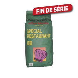 Charbon de bois Spécial Restaurant 10 kg
