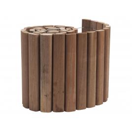 Bordure en bois dur 180 x 20 x 2 cm