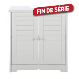 Meuble lave-mains Cottage blanc PRACTO HOME