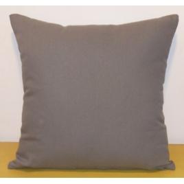 Coussin déhoussable gris foncé Jaya 40 x 40 cm INVENTIV