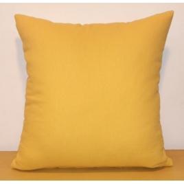 Coussin déhoussable jaune Jaya 40 x 40 cm INVENTIV