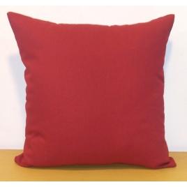 Coussin déhoussable rouge Jaya 40 x 40 cm INVENTIV