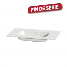 Plan de toilette Liro S-Line céramique blanc 80 cm TIGER