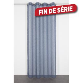 Voilage bleu Nelia 140 x 240 cm INVENTIV