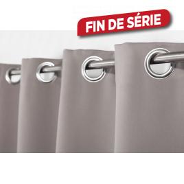 Rideau gris foncé Ella 140 x 240 cm INVENTIV