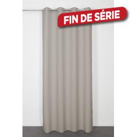 Rideau taupe Lys 140 x 240 cm INVENTIV