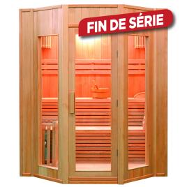 Sauna traditionnel intérieur pour 4 personnes Zen
