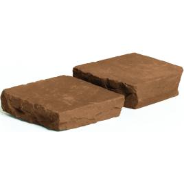Palette 650 Pavés bruns Cobles 14 x 14 cm COBO GARDEN (livraison à domicile)