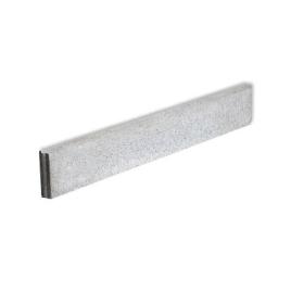 Palette 64 Bordures grises en béton 100 x 15 x 5 cm (livraison à domicile)