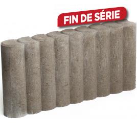 Palette 78 Bordures rondes grises 50 x 25 x 8 cm COBO GARDEN (livraison à domicile)