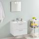 Meuble de salle de bain à suspendre Tadao blanc 60 cm LT AQUA +