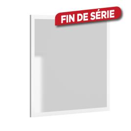 Miroir America 80 cm blanc mat ALLIBERT