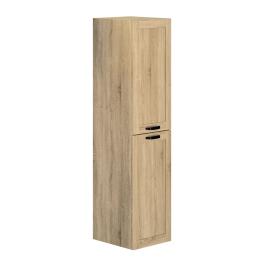 Colonne de salle de bain Cambridge 40 cm chêne hamilton ALLIBERT