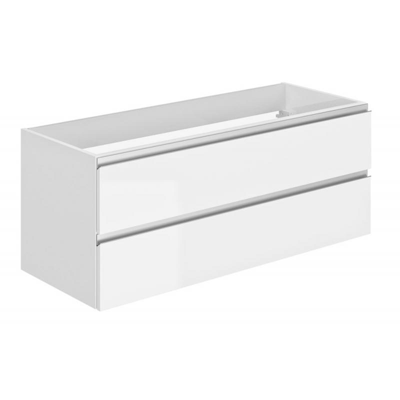 Meuble sous-plan Focus 120 cm blanc ALLIBERT - Mr.Bricolage