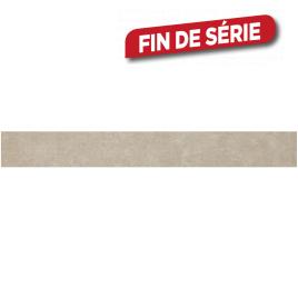 Plinthe beige Cementino 60 x 7,2 cm 10 pièces