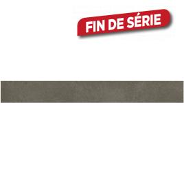 Plinthe grise Cementino 60 x 7,2 cm 10 pièces