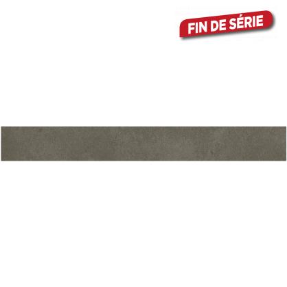 plinthe brune cementino 60 x 7 2 cm 10 pi ces. Black Bedroom Furniture Sets. Home Design Ideas