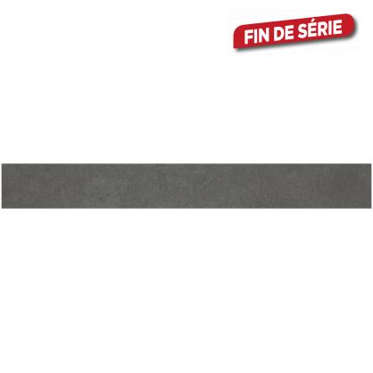 Plinthe brune Cementino 60 x 7,2 cm 10 pièces