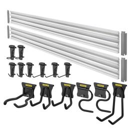 kit de rangement Trackwall 20 pièces STANLEY