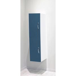 Porte pour colonne de salle de bain Mixy bleu 2 pièces
