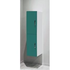 Porte pour colonne de salle de bain Mixy vert 2 pièces