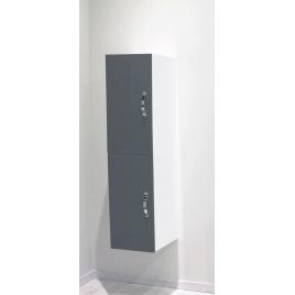 Porte pour colonne de salle de bain Mixy gris 2 pièces