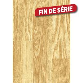 Parquet stratifié Pronto chêne 3 frises 6 mm