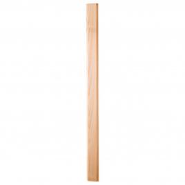 Balustre mouluré en hêtre 6,2 x 2,5 x 92 cm SOGEM
