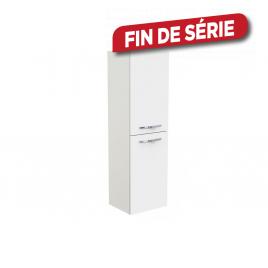 Colonne de salle de bain Obvio S+ blanc 35 cm