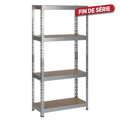 étagère De Rangement Heavy Duty 140 X 70 X 30 Cm Practo Home Mr Bricolage