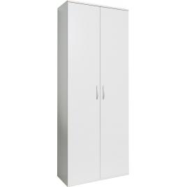 Armoire multifonctionnelle blanche 187 x 70 x 34 cm