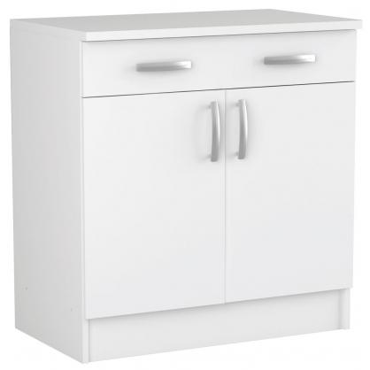 meuble de cuisine bas nova avec 2 portes 85 x 80 x 60 cm. Black Bedroom Furniture Sets. Home Design Ideas