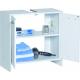 Meuble lave-mains 59 x 60 x 28 cm PRACTO HOME