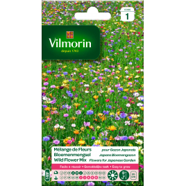 Mélange de semences de fleurs annuelles naines VILMORIN
