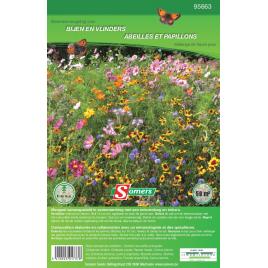 Mélange de semences de fleurs pour abeilles et papillons SOMERS