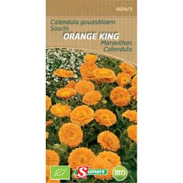 Semences de soucis Orange King Bio SOMERS