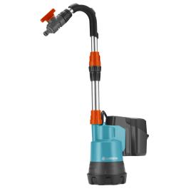 Pompe pour collecteur d'eau de pluie sur batterie 18 V GARDENA