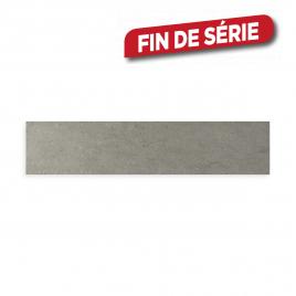 Plinthe grise Smart 33 x 7,2 cm 10 pièces