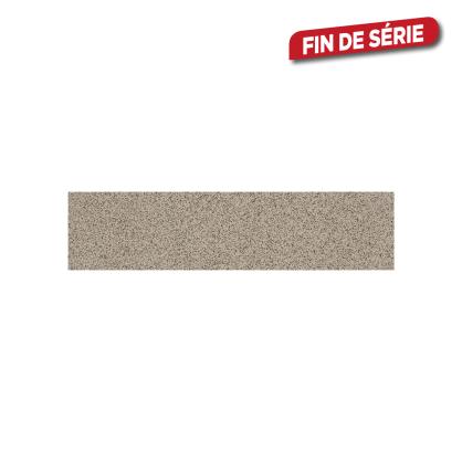 Plinthe grise Gres 30 x 7,2 cm 10 pièces