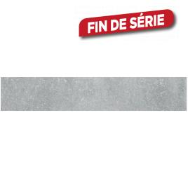 Plinthe Béton Blue Silver 45 x 7,2 cm 5 pièces