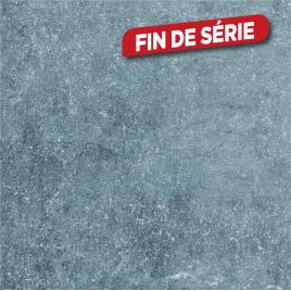 Carrelage de sol extérieur anthracite Pietra 60 x 60 cm 2 pièces COBO GARDEN