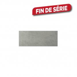 Carrelage mural gris Smart 50 x 20 cm 15 pièces