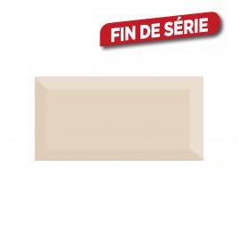 Carrelage mural beige Metro 15 x 7,5 cm