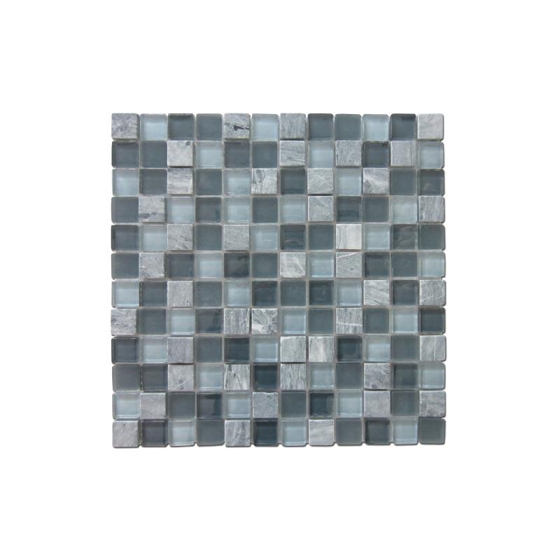 Carrelage Mosaique Gris Tuscany 30 X 30 Cm